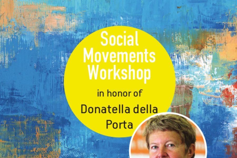 Social Movements Workshop in honor of Donatella della Porta, 24/9, 09.30-16.40 UCRC